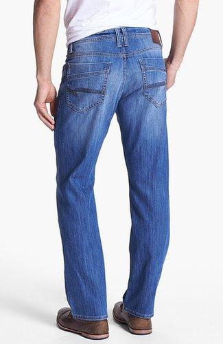 Mavi Jeans 'Matt' Relaxed Straight Leg Jeans (Light Cooper)