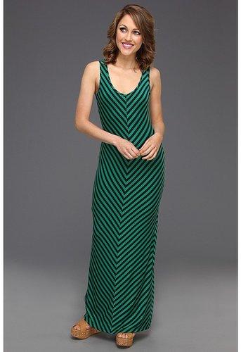 Gabriella Rocha - Kassidy Maxi Dress w/Back Cut Out (Green/Navy) - Apparel
