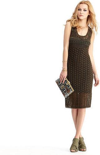 Open Crochet Dress