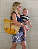 Tennessee is too cute! Reese held Tennessee on her hip for a mother-son outing in LA.
