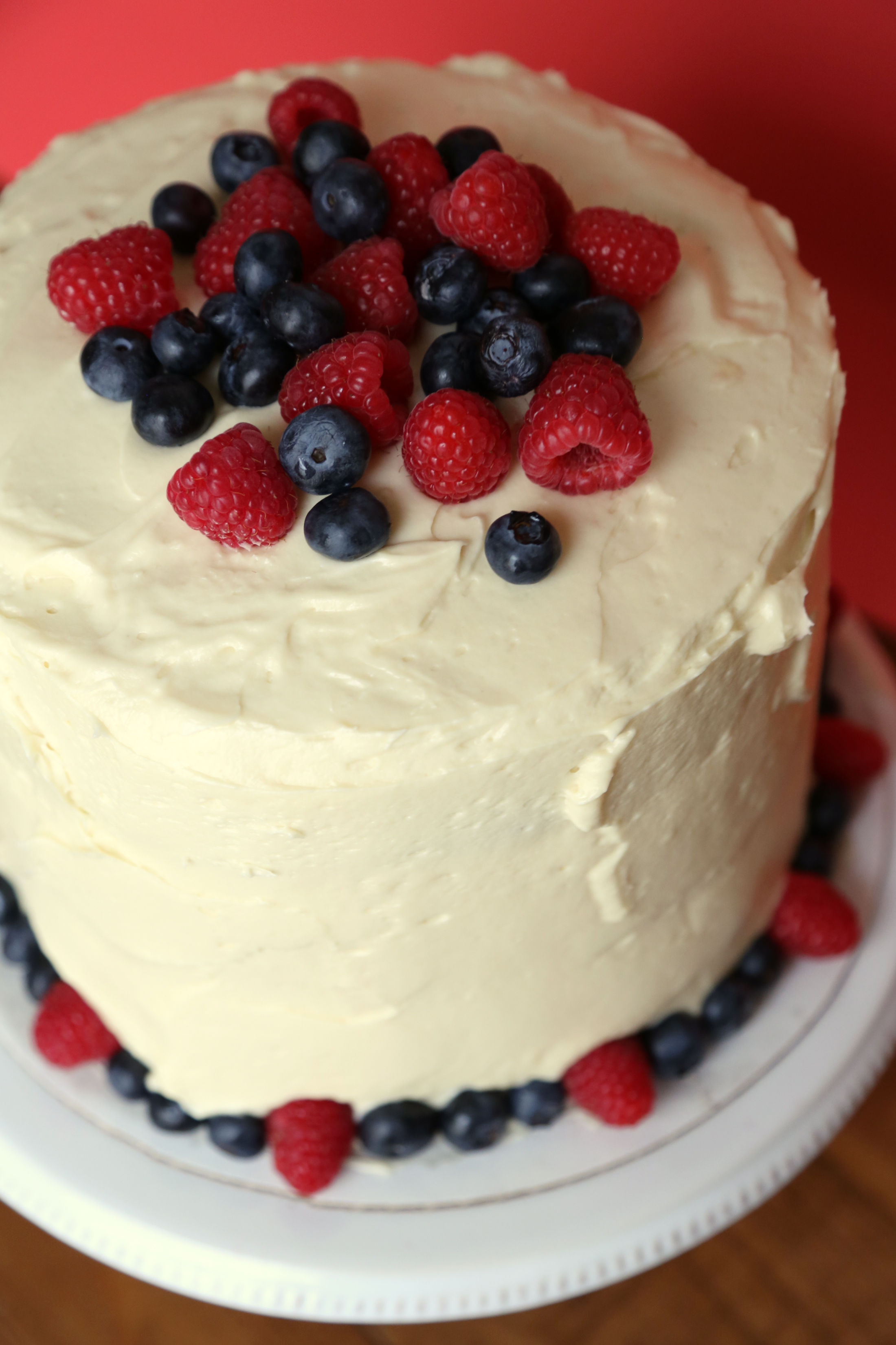 Red, White, and Blue Cake | POPSUGAR Food