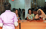 Michelle and Malia Obama visited the Martin Luther King school in Dakar with Senegal's First Lady Marieme Faye Sall in June.
