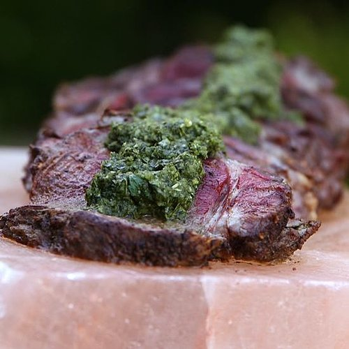 Beef Tenderloin with Chimichurri Sauce