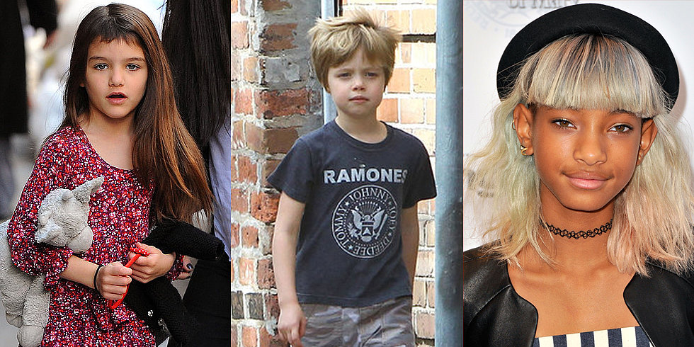 Celeb Kids With Statement-Making Hair