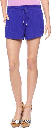 Woven Dolphin Shorts
