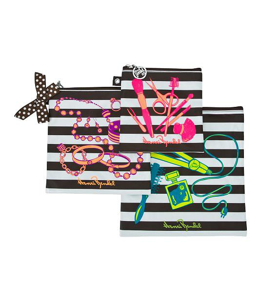 I live out of a carry-on the entire month of July, so I rely on this Henri Bendel Go Anywhere three-piece travel set ($48) to stash my jewelry and a bevy of other on-the-road essentials that would otherwise get lost in the fray. — Kate Schweitzer