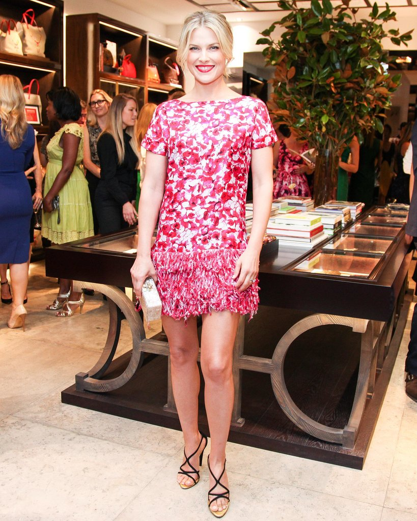 Ali Larter sizzled at the Rodeo Drive CH Carolina Herrera boutique opening.