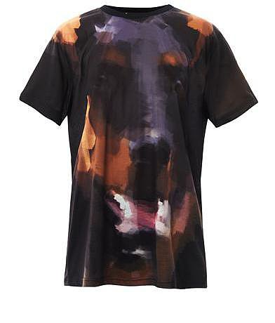 Givenchy Doberman-print T-shirt