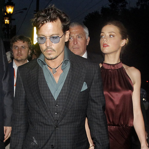 Johnny Depp and Amber Heard in Moscow | Photos