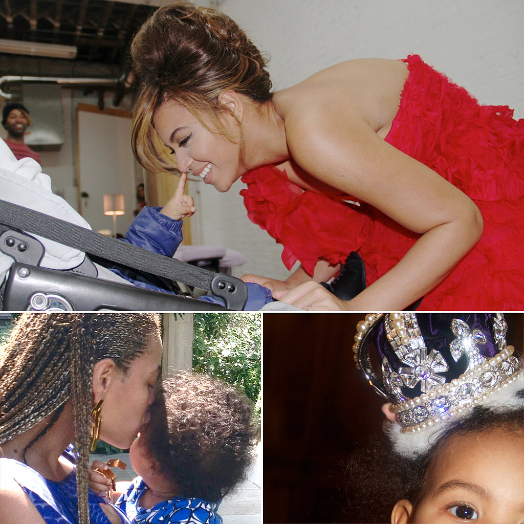 Beyoncé's Best Snaps With Blue!