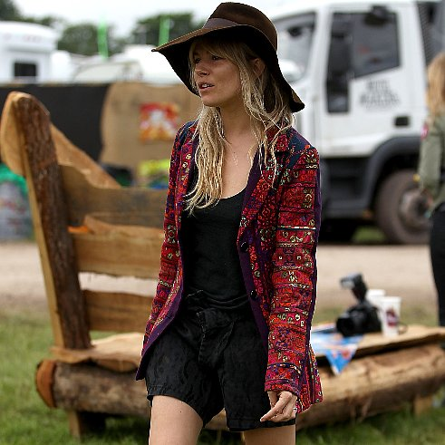 Glastonbury Celebrity Fashion 2013