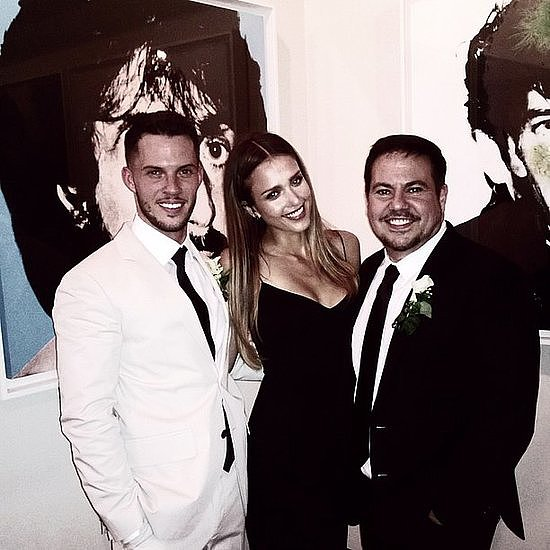 We were thrilled to hear that Narciso Rodriguez got married to Thomas Tolan this week! Jessica Alba was just one of the chic attendees.  Source: Instagram user jessicaalba