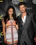"Paula Patton and Robin Thicke have each spoken out about how great their sex lives are together; Robin told Essence magazine in December 2011, ""I like to try to get her into double-digit orgasms as much as possible,"" while Paula divulged in an April interview this year that the secret to a happy marriage is ""lots of sex."""