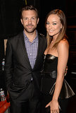 While speaking at the These Girls event in October 2012, Olivia Wilde told the crowd that she and fiancé Jason Sudeikis