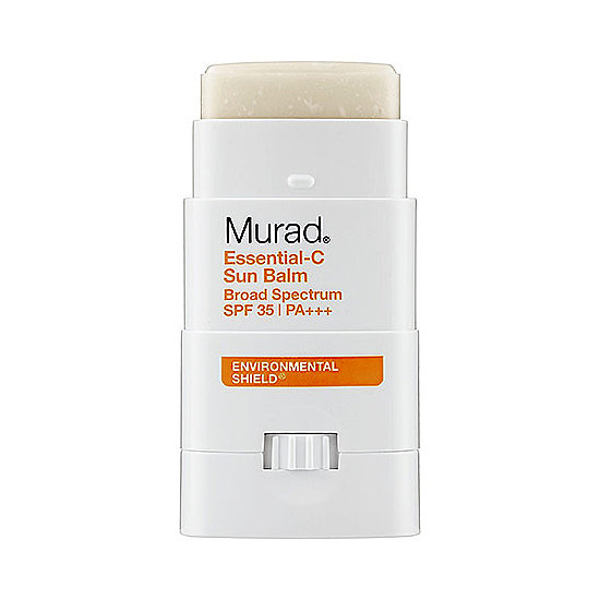 All SPFs are not created equal, and Murad Essential-C Sun Balm ($25) ranks high against the others. Besides the fact that it delivers SPF 35 in an easy-to-use bar, it doesn't have that sickly sunscreen scent . . . and that makes sun protection a whole lot sweeter. — MD