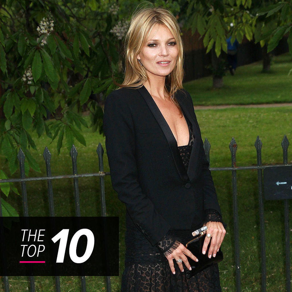 The Week's Best Dressed Starts With Kate Moss