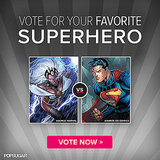 Vote Your Favorite Superhero to the Top!