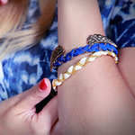 DIY Ribbon Chain Bracelets | Video