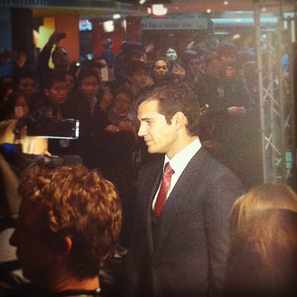 Henry Cavill hit the red carpet in Sydney for the premiere of Man of Steel, and Jess was on hand to capture all the action.