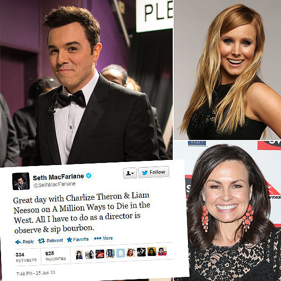 Tweets Of The Week: Seth MacFarlane, Kristen Bell, Lisa Wilkinson & More!