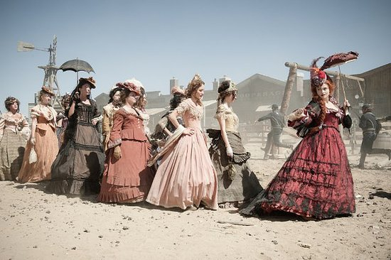 Helena Bonham Carter in The Lone Ranger.