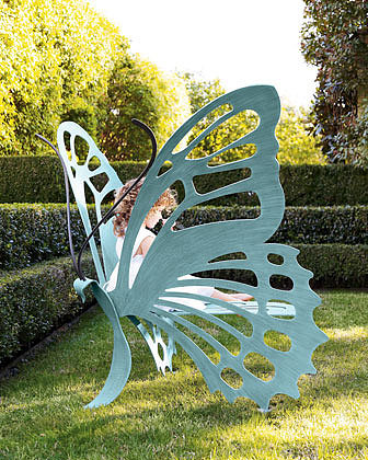Cricket Forge  Small Butterfly Bench