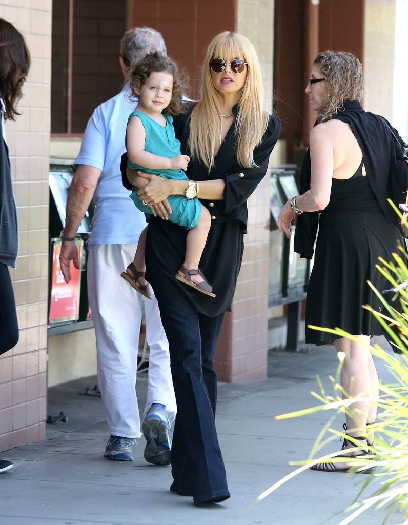 Rachel Zoe took her son, Skyler, to breakfast in Beverly Hills.