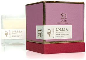 Lollia Butterflies Candle