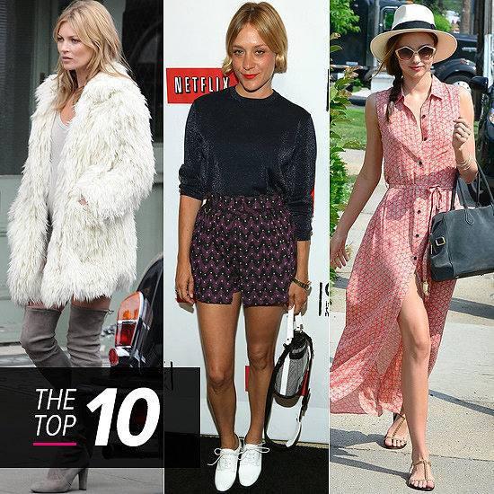 Top 10 Best Dressed Of The Week: Cool Girls Kate, Chloë & Miranda Turn it Up