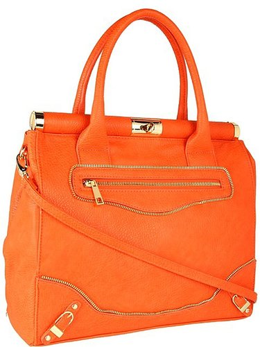 olivia + joy - Miss Priss Satchel (White) - Bags and Luggage