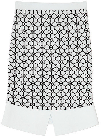 Preorder Opening Ceremony Esther Jacquard Skirt