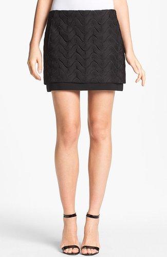 Diane von Furstenberg 'Elley' Lace Miniskirt