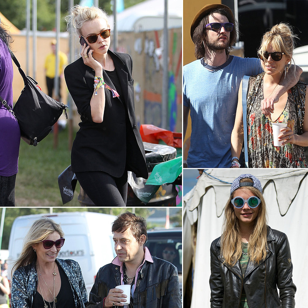 Carey Mulligan Rocks Out at Glastonbury Alongside Kate Moss and Sienna Miller