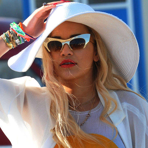 Celebrity Hair and Makeup | Glastonbury Festival 2013
