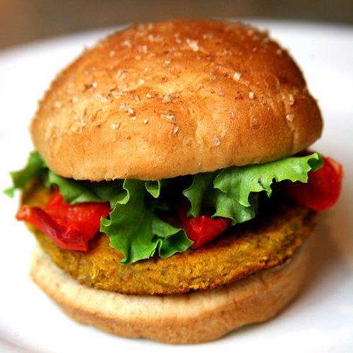 Spicy Quinoa Veggie Burger Recipe
