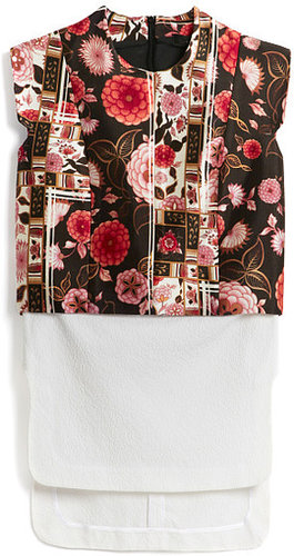 Preorder Ellery Black And Rose And White Bonfire Top