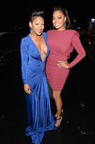 Meagan Good met up with La La Anthony backstage.