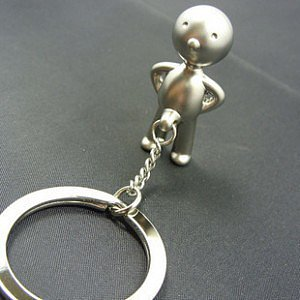 Little Boy Keyring Keychain Silver - feelgift.com
