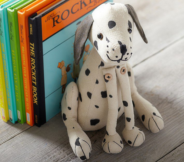Pottery Barn Kids' Dalmatian Bookend