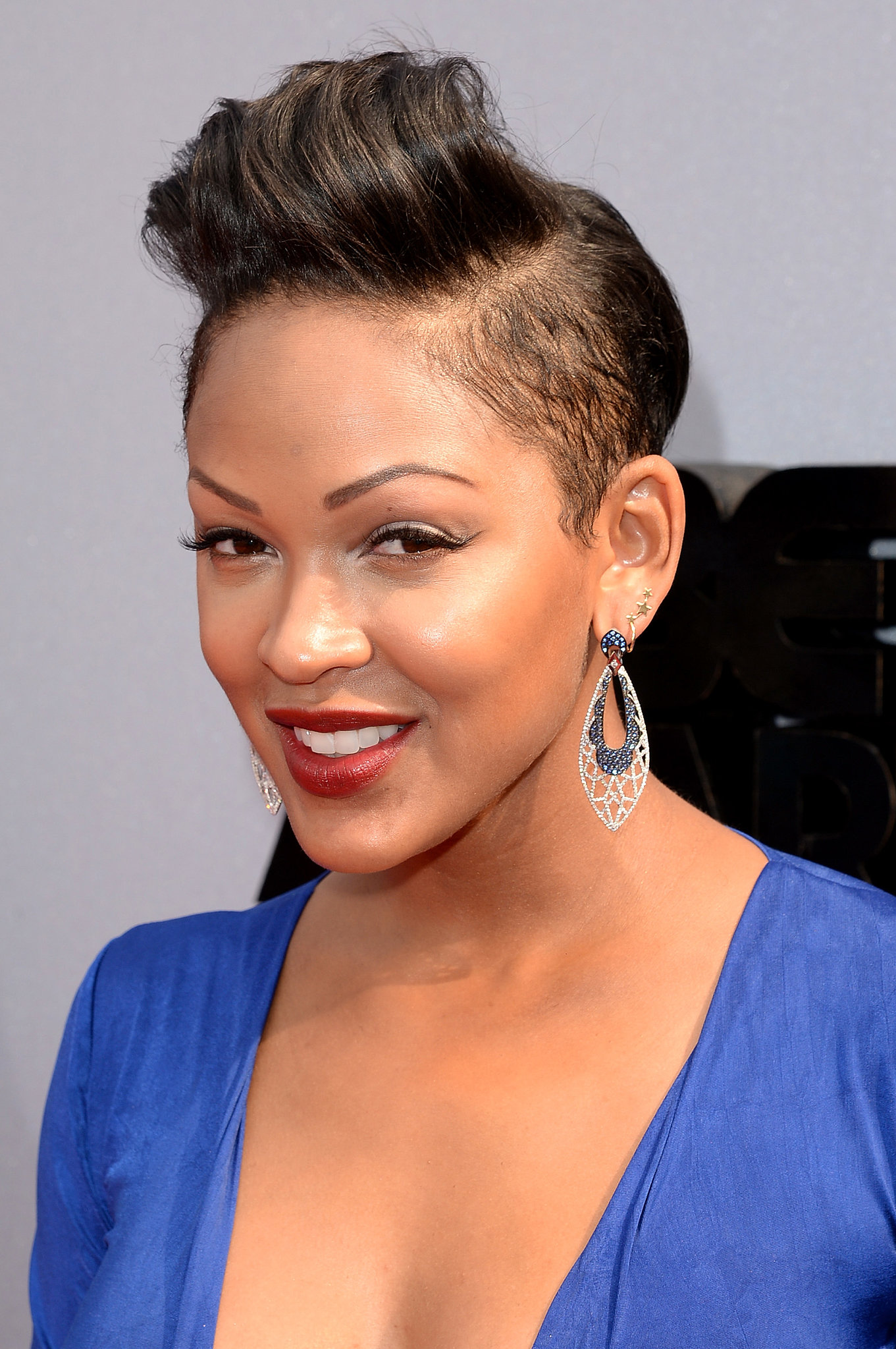 Displaying 17> Images For - Meagan Good Short Hairstyles 2013...