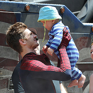 Andrew Garfield as Spider-Man Set Pictures