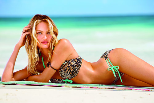 Candice Swanepoel in Victoria's Secret Swim Tour 2013
