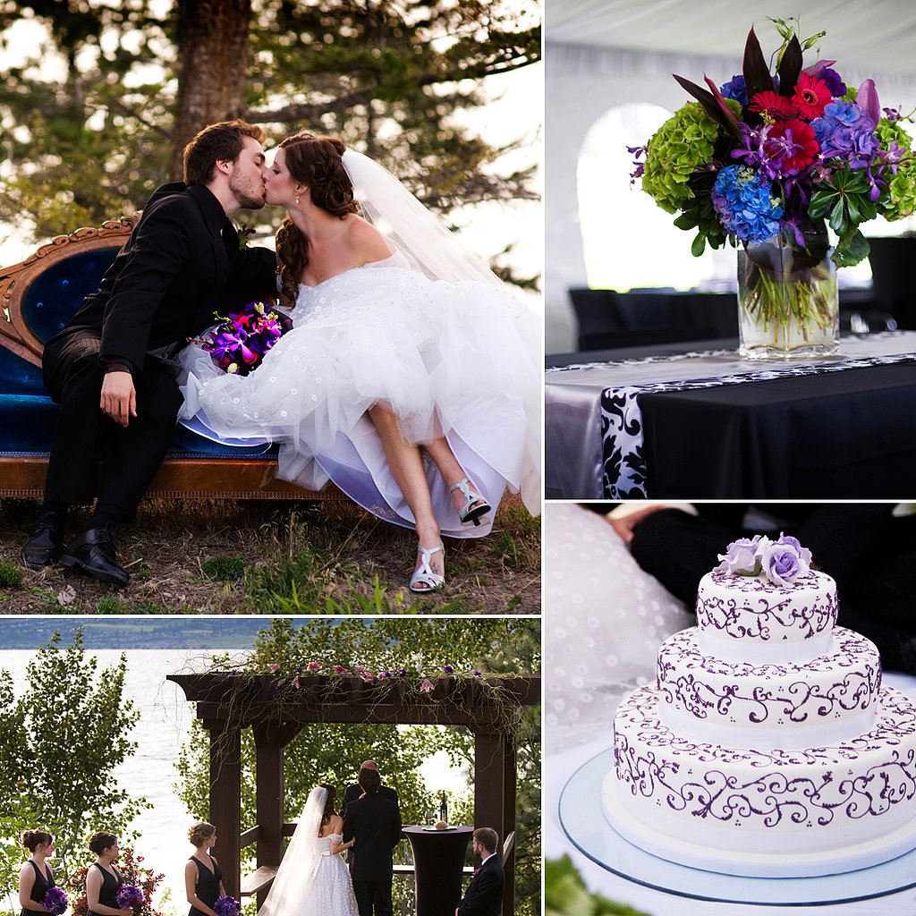 Tessa and Tyrell's Lakeside Glamour Wedding