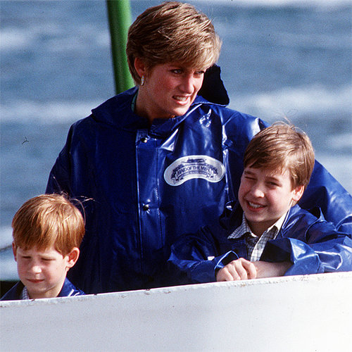 Princess Diana Pictures With Young Prince William and Harry