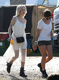 Peaches Geldof and Pixie Geldof - Day 3