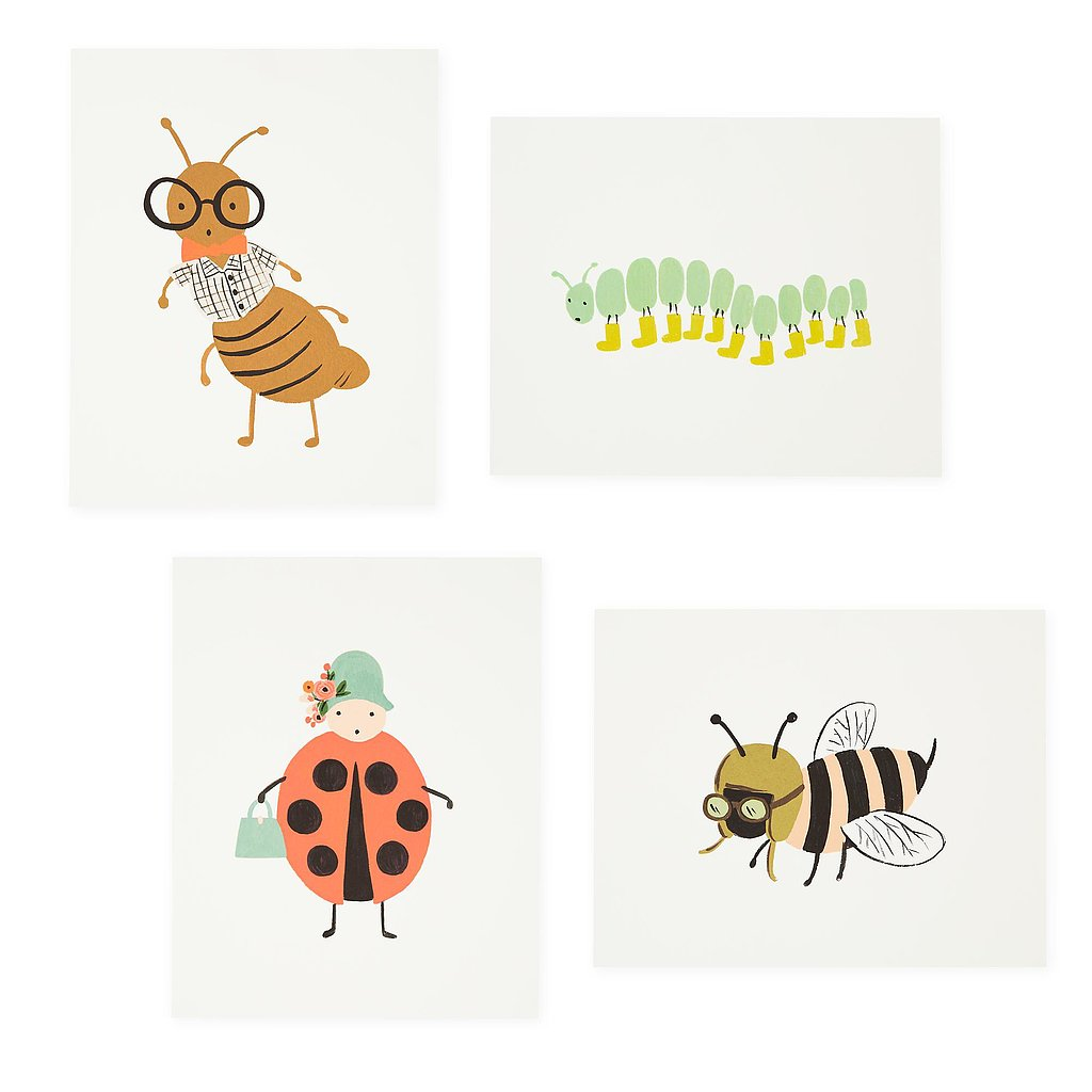 The Land of Nod Bug Prints
