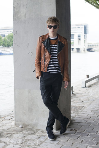 On girls or guys, we love a striped shirt during Summer.