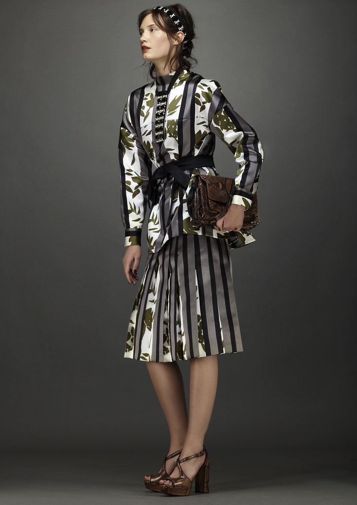 For those who dare to pile on the prints, this ensemble's a must. Source: Marni