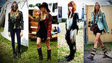 Britain's It Girls Inspire at Glastonbury
