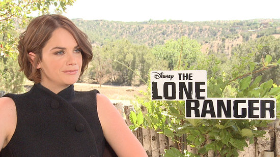 "Ruth Wilson on the ""Adrenaline"" Rush of Filming Opposite Johnny Depp"